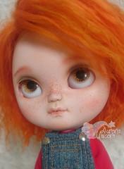 ~*-112-*~ (Aurora Unicorn) Tags: icy ooak doll blythe ull custom pug