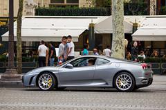Spotting 2012 - Ferrari F430 (Deux-Chevrons.com) Tags: ferrarif430 f430 ferrari430 430 supercar sportcar exotic exotics france paris spot spotted spotting croisée rue street voiture auto automobile automotive car coche