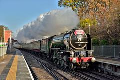 Bath Spa Christmas Express (ianmartian) Tags: steam preserved ai 60163 tornado 1z91 virginiawater victoria bristol special uk