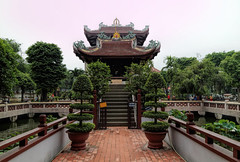 One-Pillar Pagoda ... (#0170) (browneyes1971) Tags: vietnam hochiminhcity starsgroup saigon pagoda canoncameralens browneyes