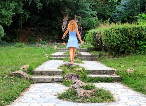 Green green green 🍃🍃🍃#green #grass #path #way #nature #mountain #balcans #walk