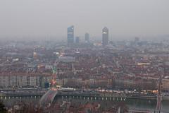 Au petit matin (Claude Schildknecht) Tags: europe fourvière france incity lyon matin morning oxygène places tour tower