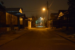 Casa (Uthanien) Tags: santiago puente noche ciudad alto