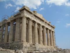 Acropolis Parthenon (mademoisellelapiquante) Tags: architecture ruins athens parthenon greece acropolis ancientgreece ancientart