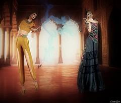 Thinking on desires (Eurídice Qork) Tags: world sexy art fashion photoshop model magic creative ps sl secondlife virtual network aladin genie magiclamp ghee photosho creativeartnetwork