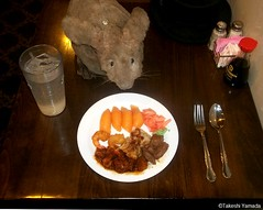 Dr. Takeshi Yamada and Seara (Coney Island Sea Rabbit) at the Seaport Chinese Buffet Restaurant in sheepshead Bay in brooklyn, NY on September 8, 2015. salmon sushi, buttered and fried shrimps, gyoza, beef, General Tso's chicken.  20150908 100_9948=0010rC (searabbits23) Tags: ny newyork sexy celebrity art hat fashion animal brooklyn painting sushi asian coneyisland japanese star restaurant tv google king artist dragon god manhattan wildlife famous gothic goth chinese performance pop taxidermy cnn tuxedo bikini tophat unitednations playboy entertainer samurai genius buffet mermaid amc johnnydepp mardigras salvadordali unicorn billclinton billgates aol vangogh curiosities sideshow jeffkoons globalwarming takashimurakami pablopicasso steampunk damienhirst cryptozoology freakshow barackobama seara immortalized takeshiyamada museumofworldwonders roguetaxidermy searabbit ladygaga climategate minnesotaassociationofroguetaxidermists