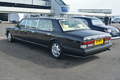 Bentley Turbo R Jankel Limousine (CA Photography2012) Tags: ca uk classic car club photography automotive limo exotic turbo funeral silverstone r british annual rare meet limousine hearse bentley spotting drivers lwb jankel b7wfd