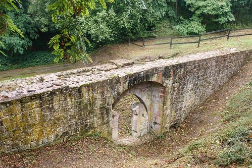 Le long des fortifications à Wissembourg