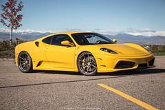 Ronnie (Hunter J. G. Frim Photography) Tags: cars coffee yellow italian colorado ferrari giallo modena supercar v8 f430 ferrarif430 carsandcoffee giallomodena ronnierenaldi