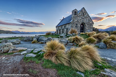 The Church of the Good Shepherd, Lake Tekapo, New Zealand (darrinwalden Photography) Tags: