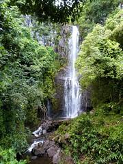 Wailua Falls on Road to Hana James Brennan Hawaii (James Brennan Molokai Hawaii) Tags: water rain hawaii waterfall stream maui haleakala hana jungle southpacific lush roadtohana haleakalanationalpark wailuafalls jamesbrennanhawaii