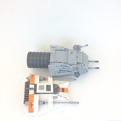 The Command of the AT-AT (LiLmeFromDaFuture) Tags: lego atat photostream minifigurescale