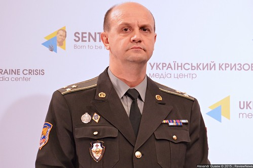 Colonel Ihor Fedirko from the Main Military Clinical Hospital of the Defense Ministry of Ukraine