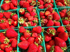 Strawberries - These are a few of my favorite things (laudu) Tags: food plant fruit berry bright strawberries