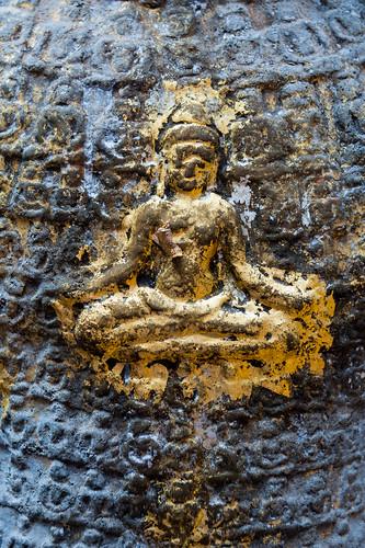 On Avalokitesavara's belly