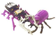 Now Kiss! (Rainbowdoom) Tags: transformers g1 takara tf shrapnel insecticons skrapnel