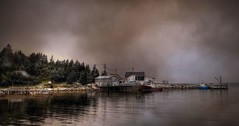 Day's Work is Done.... (Carolyn Little (AWAY)) Tags: boats fishing novascotia shore wharf unn goldcollection