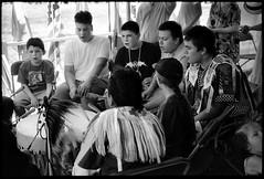 Na Me Res, Toronto (saampler) Tags: leica m4 35mm summicron ilfordfp4plus125 blackandwhite film na me res pow wow toronto native festival americana indian tribal