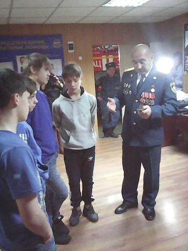 Экскурсия в ПЧ№3 г. Улан-Удэ - осень 2015