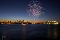 P&O Fireworks over Sydney Harbour