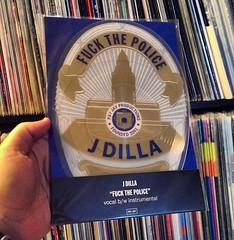 "J-Dilla - Fuck The Police 7"" Vinyl (dj_oso_fresh) Tags: vinyl limitededition picturedisc dilla jaydee vinyljunkie waxwars jdilla vinylporn dillachangedmylife osogotmadvinyl keepdiggin"