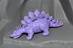 Russ rubber dinosaur: Stegosaurus (LittleWeirdos) Tags: toy dinosaur stegosaurus minifigure dinosaurtoys dinosaurtoy rubberdinosaur 90stoy russtoys dinosaurfigure