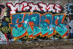 Snag (Alex Ellison) Tags: urban graffiti boobs graff snag eastlondon hackneywick dfn