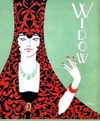 Widow (vintagesmoke) Tags: woman illustration magazine march student university cigarette smoking cover cornell widow 1928 publication march31928