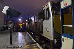 072 at Pearse, 12/12/15 (hurricanemk1c) Tags: dublin irish train gm rail railway trains railways irishrail generalmotors pearse 2015 emd 071 072 iarnród santaspecial éireann iarnródéireann 1643pearsegreystones