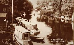 Canal W From Wisconsin St Bridge, Locks in Distance