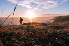 Sunset Trail Run (Ridon15) Tags: trailrun marinheadlands sunset sonyimages rx100iii rx100m3
