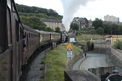 Last Train of the Gala (JamesHorrellPhotography) Tags: steam trains kwvr haworth keighley 43924 90733 5820 7822 railway