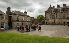 Stirling Castle Courtyard (IceNineJon) Tags: unitedkingdom scotland palace stirlingshire stirlingcastle greatbritain stirling photography canon5dmarkiii europe greathall outerclose 5dm3 britain parliamenthall uk esplanade courtyard castle