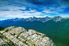 Sulphur Mountain, Banff National Park, Alberta, Canada, 1999 (.JL.) Tags: alberta jackson 1999 jacksonloi loi canada banffnationalpark
