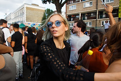 Notting Hill Carnival 2016 (jaumescar) Tags: nottinghillcarnival sunglasses girl woman people crowd streetphotography group london festival fashion stylish portrait