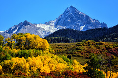 BE STILL MY HEART ... (Aspenbreeze) Tags: colorado autumn mtsneffels sanjuanmountains fallseason fall aspentrees mountains autumncolor colorchange mountainpeaks peaks snow snowypeaks bevzuerlein moonandbackphotography aspenbreeze