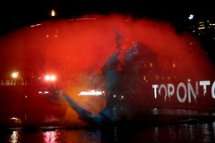 DSC01857 (Moodycamera Photography) Tags: toronto nuitblanche night water cityhall picture fountain 2016 campbellhouse books light dundassquare sun nathanphillipssquare pneuma death
