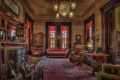 A Bygone Era #2 (snaphappyd) Tags: victorian furnishings victoriana museum hdr astoria oregon historic mansion