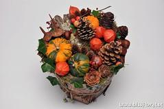 #Emmertje #Herfst... (floralworkshops) Tags: denneappel lampion pompoen