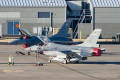 USAF/Republic of China (Taiwan) Air Force F-16As 93-0705 and 93-0708 (Josh Kaiser) Tags: 21stfs 930705 930708 f16 f16c luke usaf