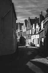 In Bruges (David Pinzer) Tags: travel europe belgium bruges brugge city town street monocrome