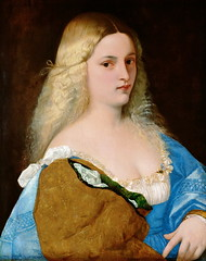 Violante (lluisribesmateu1969) Tags: 16thcentury portrait titian onview kunsthistorischesmuseumwien vienna