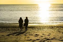 DSC_1471 (Kaloyan Cholakov) Tags: aberystwyth seaside people silhouette sea sunshine sun