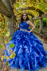 DSC_0645-42 (interfectvm) Tags: girl dress blue quince hispanic latina woman female beauty fashion culture