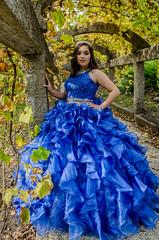 DSC_0645-42 (interfectvm) Tags: girl dress blue quince hispanic latina woman female beauty fashion culture