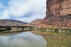 Moab Utah (MalaneyStuff) Tags: moab utah d5100 nikon colorado river bridge usa