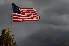 Storms Ahead (arbyreed) Tags: arbyreed flag americanflag oldglory starsandstripes usflag dark darksky