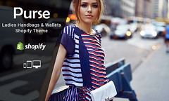 Purse  Ladies Handbags & Wallets Responsive Shopify Theme (ThemeTidy) Tags: shopifythemes shopify themes templates shopifytemplates bootstrap responsive ecommerce ladis handbags wallet fashion shop
