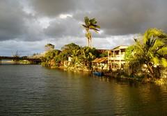 Tela, Honduras (M. Carpentier) Tags: tela honduras water eau soleil sun sunset coucherdesoleil lumire light nuage cloud