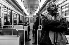 IMG_0338 (Lens a Lot) Tags: paris | 2016 sigma 1835 mm f18 dc hsm art 2015 9 blades aperture metro subway people ultra wide angle lens black white blackandwhite street photography streetphotography noir et blanc monochrome